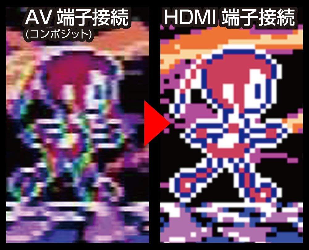 HDMI端子接続の画質の良さ比較
