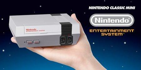 NES Classic Edition手乗り