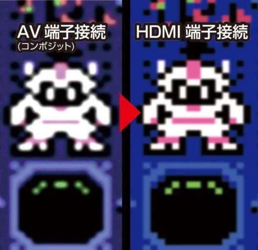 8ビットコンパクトHDMI画質比較