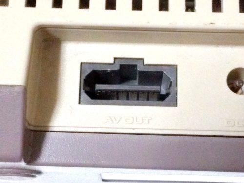 NEWファミコンのAV入力