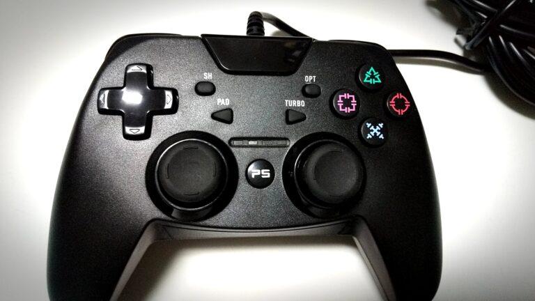 PS4/PS3/PC用 シンプルコントローラーターボ証明