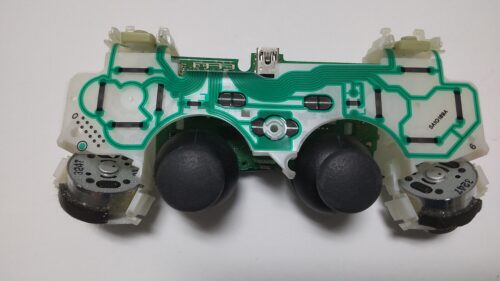 PS3のコントローラーを分解